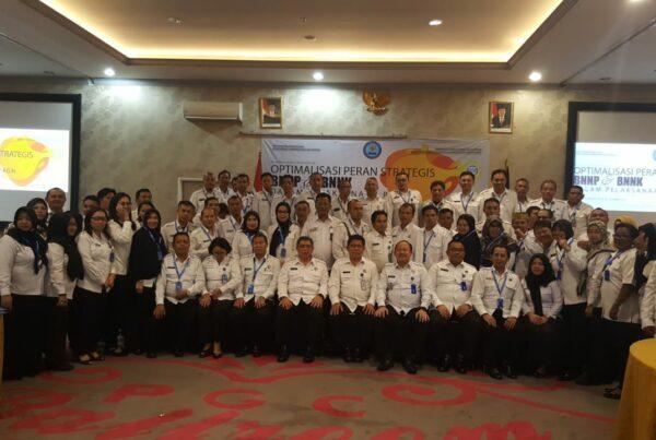 Kegiatan Ka Bnnp Kaltim dan Ka Bnnk Samarinda, Ka BNNK Balikpapan dan Ka BNNK Bontang dan serta Ka Balai Rehab Tanah Merah Dalam acara Optimalisasi peran BNNP dan BNNK dalam pelasanaan P4GN .