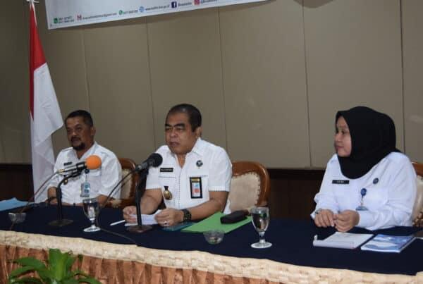 BNNP Kaltim - Rapat koordinasi Pascarehabilitasi pengenalan Layanan agen pemulihan Dalam Program Intervensi Berbasis Masyarakat