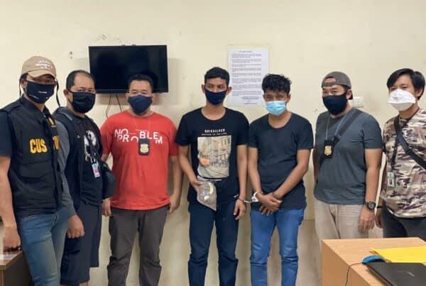 BNNP Kaltim - Ganja Tak Mengenal Corona Buktinya Dua Orang Ini MFM dan AEJ, Nekad Beli Ganja Dari Sumatra