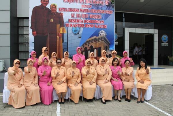 Tatap Muka Dalam Rangka Kunjungan Kerja Ketua DWP BNN RI Ke BNNP Kaltim