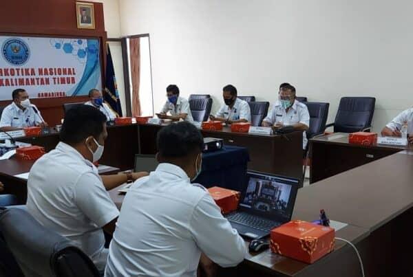BNNP Kaltim - Dit. Narkotika BNN RI, Melakukan Monitoring Dan Evaluasi Pelaksanaan Kegiatan Di Bidang Pemberantasan Dilingkungan BNNP Kaltim Maupun BNNK .