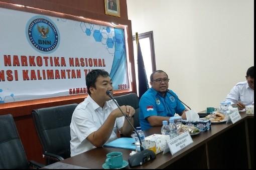 BNNP Kaltim - BNN RI gelar Kegiatan monitoring dan evaluasi terkait dengan Tahanan Dan Barang bukti