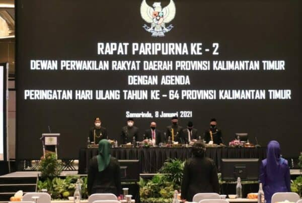 BNNP Kalimantan Timur – Ka.BNNP Kaltim Ikuti Sidang Paripurna Ke-2 DPRD Provinsi Kaltim Ageda Hut Ke – 64 .