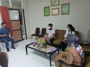 Koordinasi Di Sekolah ……….. BNNK Di Kota Bontang Dalam Rangka Memberikan Materi Terkait Bahaya Penggunaan Narkoba Dikalangan Pelajar .